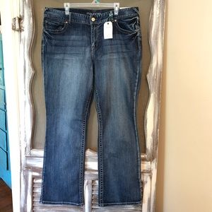 Maurice's Slim Boot Jeans Size 22